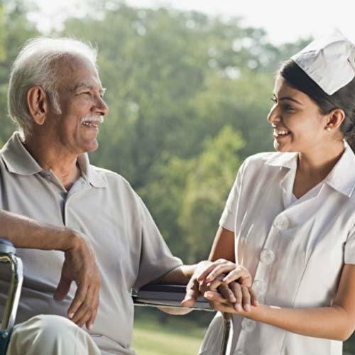 Parkinson Disease Home Care in East Patel Nagar