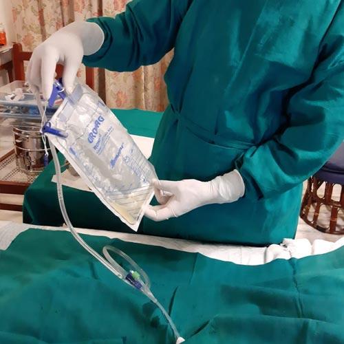 Catheterization at Home in Saket