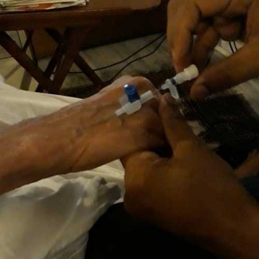Nurses for Cannulation at Home in Noida Sec 50