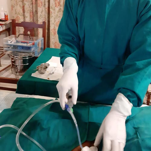 Urine Catheter Insertion at Home